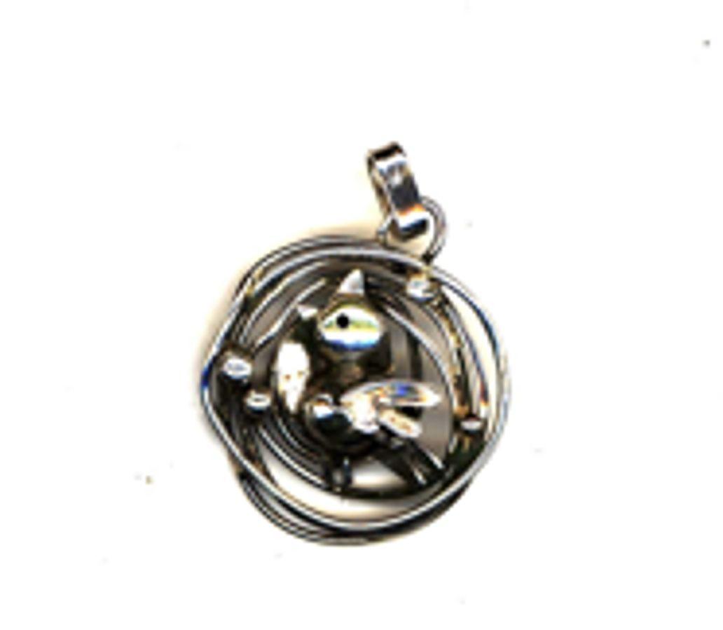 Bird nest pendant handcrafted jewellery melbourne barbara gambin bird nest pendant custom pendant aloadofball Choice Image
